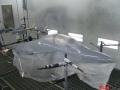 Покраска лодки катера в Минске